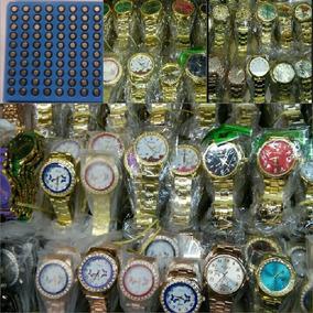 Kit 10 Relógio Feminino+cartela C/100 Bateria Preco Atacado