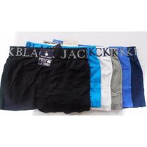 Kit Cueca Box Black Jack 06 Un + Frete Gratis