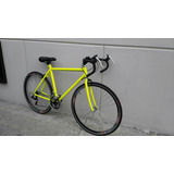 Bicicleta Carrera Ruta Fixie Urbana 18 Vel Shimano