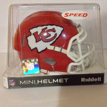 Casco Nfl Mini Helmets Riddell Speed Jefes Kansas City