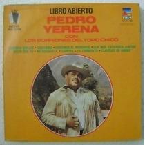 Pedro Yerena / Libro Abierto 1 Disco Lp Vinilo
