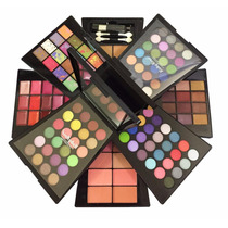 Kit De Maquiagem Ruby Rose - Glamour - Paleta Giratória