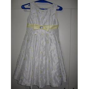 Vestido Nena Fiesta T 5 Importado, Hermoso, Exelente Calidad