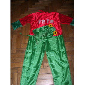 Lote 7) Disfraces Sapo Pepe Y Pepa Talle 2/4¡¡¡x Liquidac