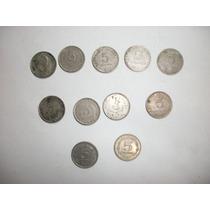 Monedas Argentinas 5 De 0.05 Ctv. De 1942 A 1959