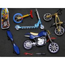 Show 02 Skates Dedo Bicicleta Patinete Motocicleta Monociclo