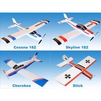 Plantas De Aeromodelos + Simuladores + Projeto Turbina+asas