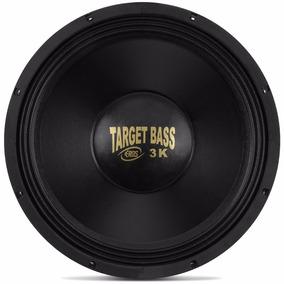 Alto Falante Eros E15 Target Bass 3.0k 8ohms 1.500w Rms