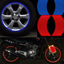 Filete Stickers Llantas Moto Auto Vinilo Colores Reflectivos