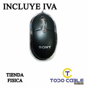 Mouse Optico Alambrico Sony
