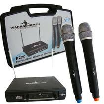 Par Microfonos Inalambricos Alta Calidad, Largo Alcance Vhf