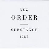 Cd Original New Order Substance 1987 Dos Discos