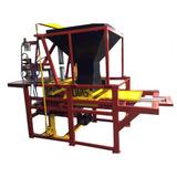 Máquina Para Fabricar Blocos - Pneumática + 01 Forma