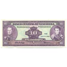 Billete 10 Bolívares Junio 5 De 1995 Serial P8