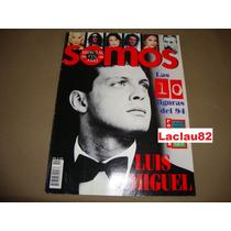 Luis Miguel Espectacular De Fin De Año Revista Somos 1994