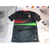 Jersey Nike Portugal Visita 2015 Cr7 Aficionado Original