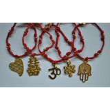 Pulsera Kabbalah, Suerte, Protección, Prosperidad, Feng Shui