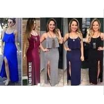 Vestidos Longos Loja De Fabrica P.m.g Roupas Da Moda