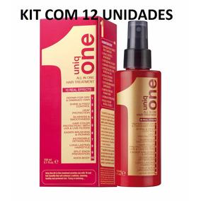 Kit 12 Leave In Uniq One Revlon Tratamento 10 Em 1 - 150ml