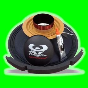 Kit Reparo Alto Falante Ultravox Pancadão 1k6 1600 4 Ohm 12