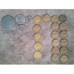 Monedas Y Billetes Mexicanos Y Norteamericanos