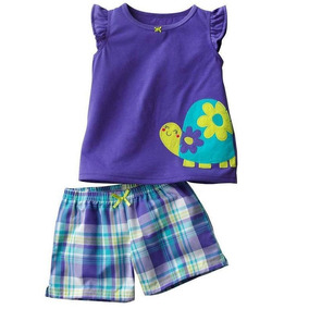 Set Importado Carters 2p Remer Short Tortuga Y Ropa Gap Polo