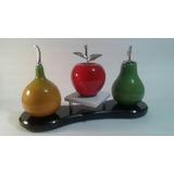 Fruteros En Madera
