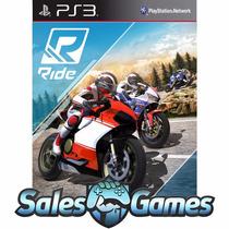 Ride Corrida De Motos { Playstation 3 Psn Ps3 Lançamento}