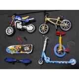 Bicicleta Dedo Motocicleta Monociclo Skate De Dedo Patinete