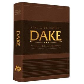 Bíblia De Estudo Dake Marrom - Nova Edição