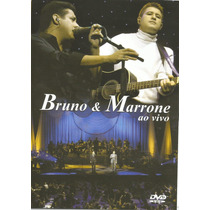 Dvd - Bruno & Marrone - Ao Vivo - Lacrado