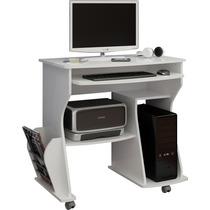 Mesa / Mesinha Para Computador De Canto Pequena Branco Ideal