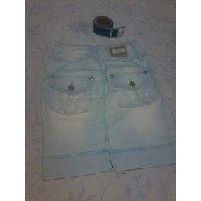 Saia Jeans Via Tolentino E Cinta