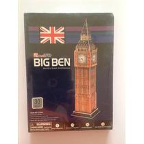 Reloj Big Ben Inglés Para Armar En 4d De 30 Piezas, Nuevo