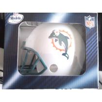 Nfl Casco Delfines Miami /casco Porta Vasos Y Vaso