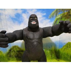 Entrega Gratis Boneco Gorila King Kong Articulado 25cm