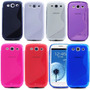 Capa Case Tpu Silicone Gel S Samsung Galaxy S3 Varias Cores