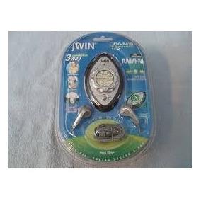 Mini Radio Portatil Jwin Am/fm Con Audifonos