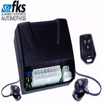 Alarme Anti Furto Fks Fk902 Plus 2 Controles Universal Carro