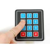 Matriz De Teclas 4x3 Para Arduino Microchip Pic