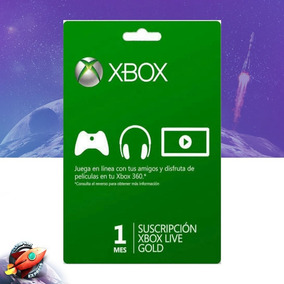 Xbox Live Gold 1 Meses - Us Assinatura Xbox Live Gold 1m