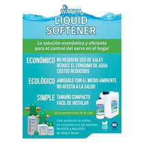 Suavizador Líquido Sin Sales Ni Desperdicio De Agua. 1/2