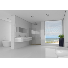Porcelanato Lanzi Blanco Brillante 51x103 Rectf.