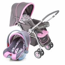 Carrinho De Bebê Com Bebê Conforto Travel System Reverse