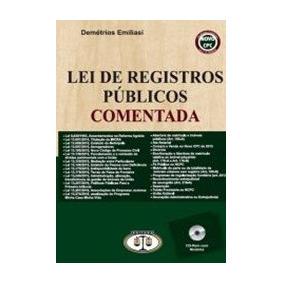 Lei De Registros Publicos Comentada 2016 - Novo Cpc