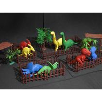 49 Peças Parque Dinossauros Jurassic Park 40x25cm