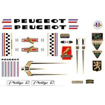 Adesivos Bicicleta Peugeot Prestige 10 Nacional - Junior_sbs