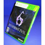 Resident Evil 6 Juego Xbox 360