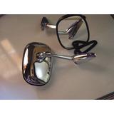 Espejo Retro Volkswagen Escarabajo Metal Cromado El Mejor!!