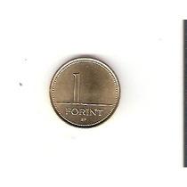 Linda Moeda Da Hungria De 1 Forint De 1996 - Vejam A Foto !